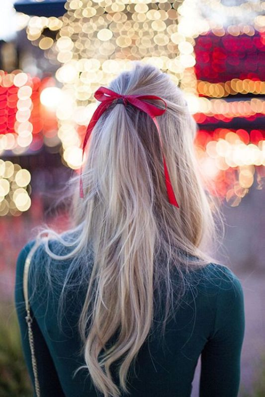 Picture Of chic and pretty christmas hairstyles ideas  22