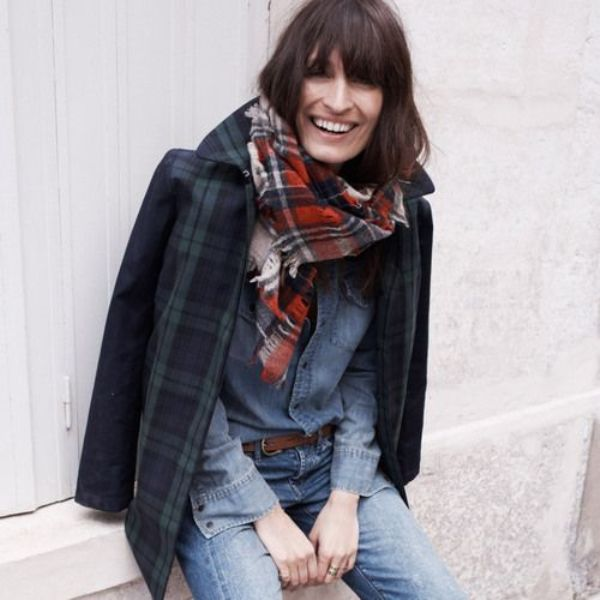 Picture Of stylish ways to wear plaid  10