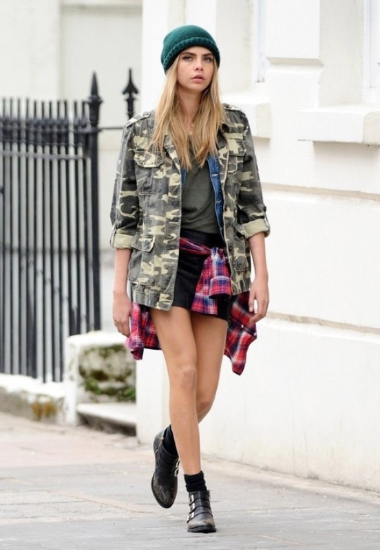 Picture Of stylish ways to wear plaid  13