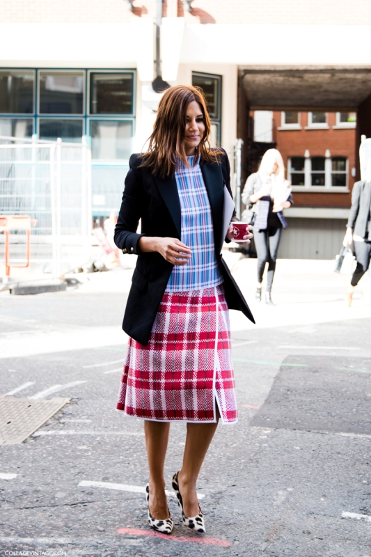 Picture Of stylish ways to wear plaid  34