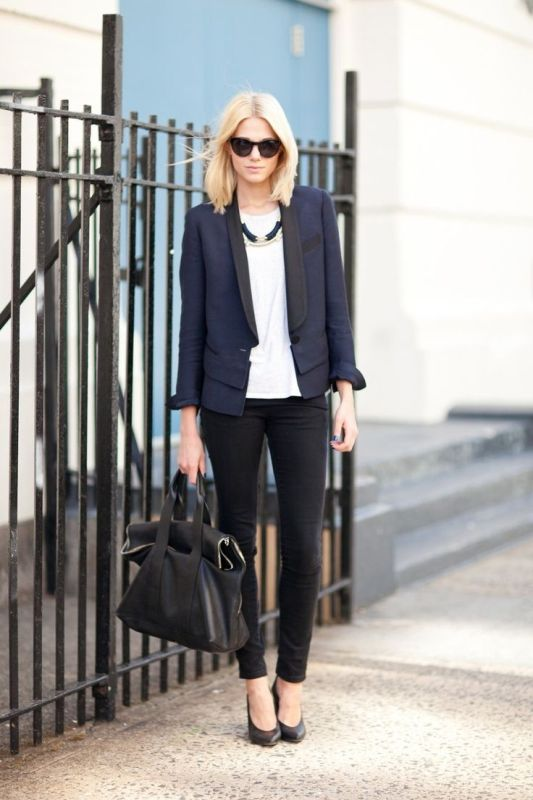 Picture Of fashionable work outfits for women to score a raise  11