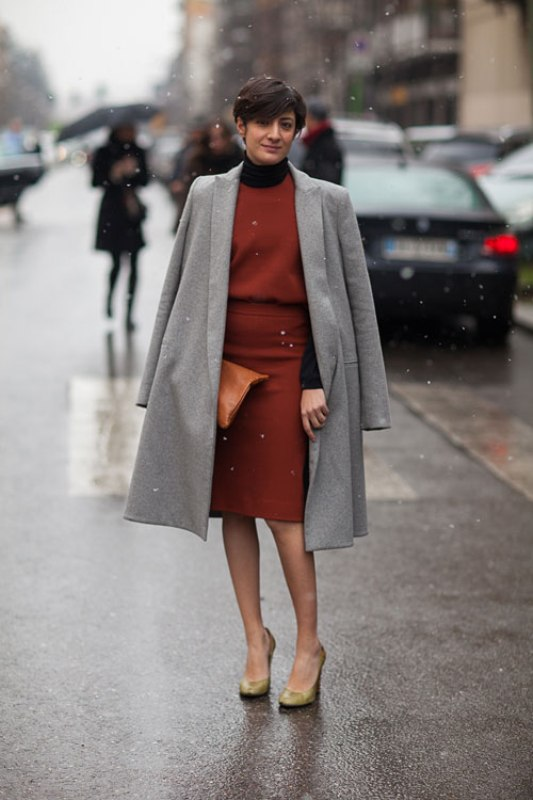 Picture Of fashionable work outfits for women to score a raise  29