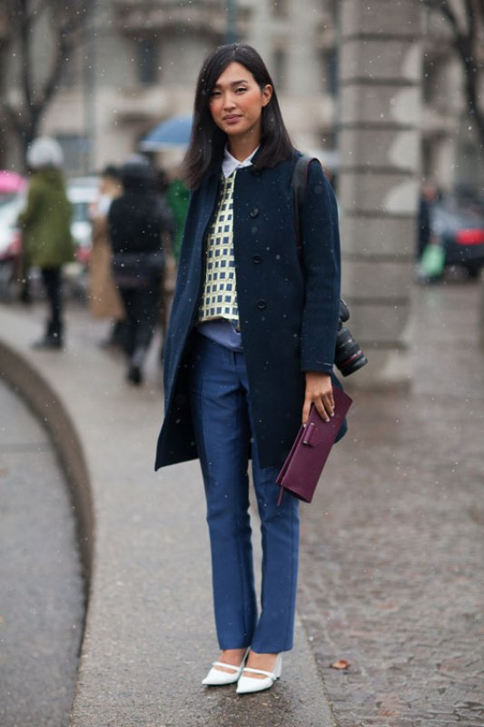 Picture Of fashionable work outfits for women to score a raise  4