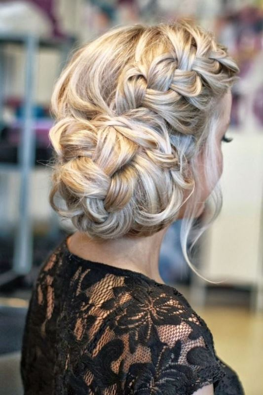 Picture Of the most gorgeous prom night hairstyles  11