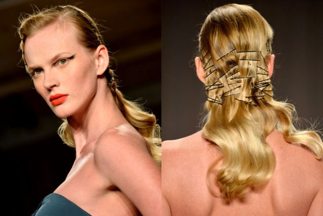 Picture Of 7 Best Hairstyles From NYFW 5
