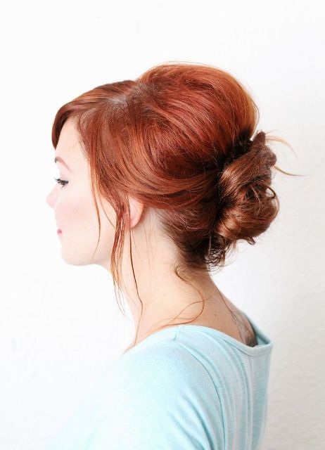 9 Easy To Make Updos For Second Day Hair