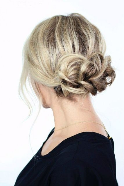 Picture Of 9 Easy To Make Updos For Second Day Hair 3
