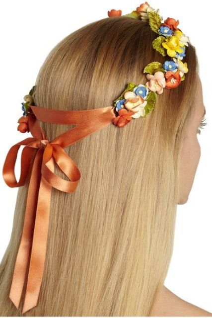 9 Stylish Floral Hair Accessories For This Summer