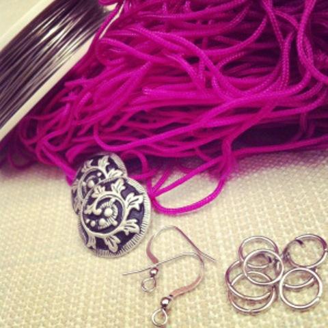 Picture Of Amazing DIY Tassel Earrings 2