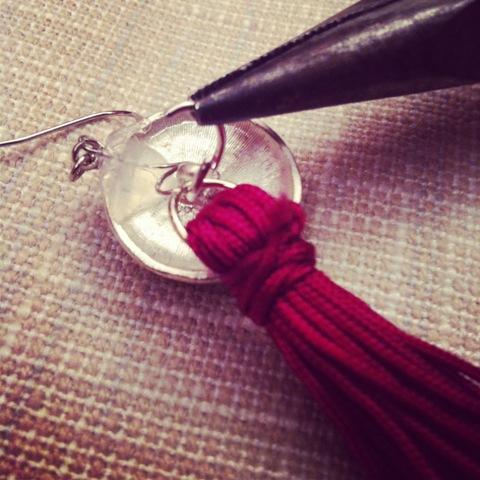 Picture Of Amazing DIY Tassel Earrings 5