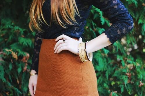 DIY Fall Natural Jewelry – A Gourd Bracelet