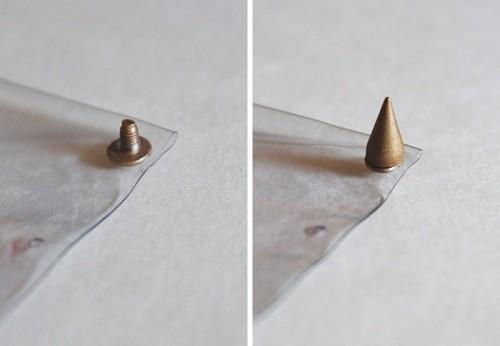 Awesome DIY Clear Clutch