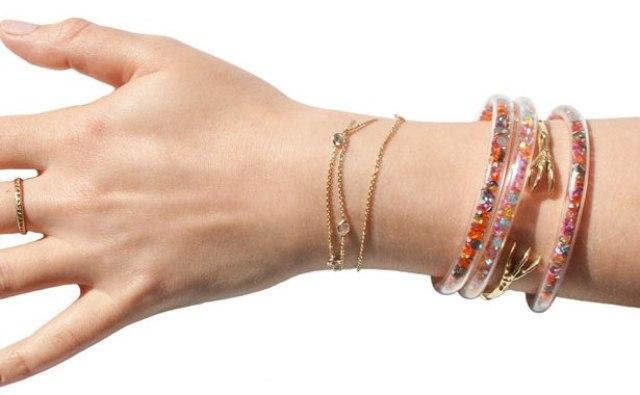 Awesome DIY Crystal Tube Bracelet