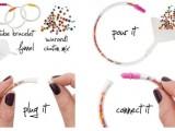 Awesome DIY Crystal Tube Bracelet2