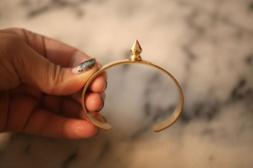 Awesome And Easy To Make DIY Spike Cuffs