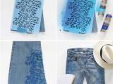 Boho Chic DIY Floral Print Denim3