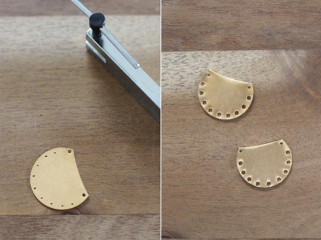 Picture Of Boho DIY Brass Fringe Earrings 5