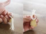 Boho DIY Brass Fringe Earrings7