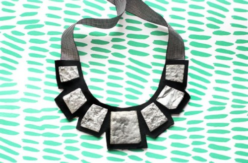 Bright DIY A Statement Necklace