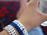 Bright DIY Braided Rhinestone Bracelet11
