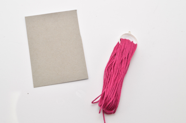 Picture Of Bright DIY Oversized Tassel Necklace 6
