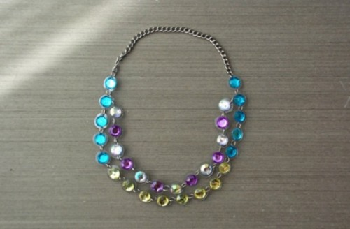 Brilliant DIY Jewelled Necklace