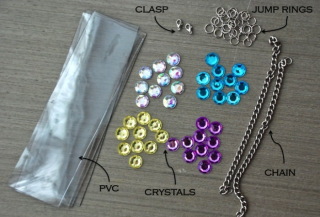 Picture Of Brilliant DIY Jewelled Necklace 2