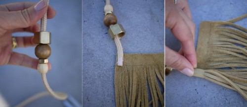 Charm DIY Gucci Inspired Tassel Belt