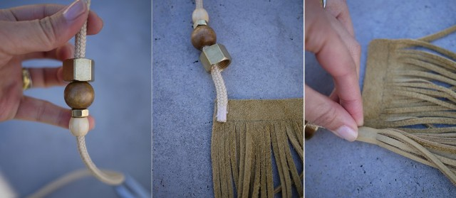 Picture Of Charm DIY Gucci Inspired Tassel Belt 4