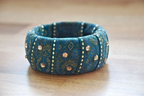 Chic And Colorful DIY Baroque Bangle