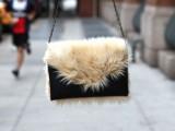 Chic DIY Faux Fur Clutch3