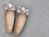 Chic DIY Glitter Bow-Tie Flats10