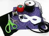 Chic DIY Jeweled Spider Mask For Halloween Party2