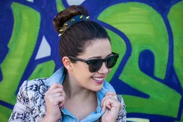 Chic DIY Spike Headband