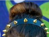 Chic DIY Spike Headband4