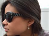 Chic DIY Sunglasses With Nail Polish Dots6