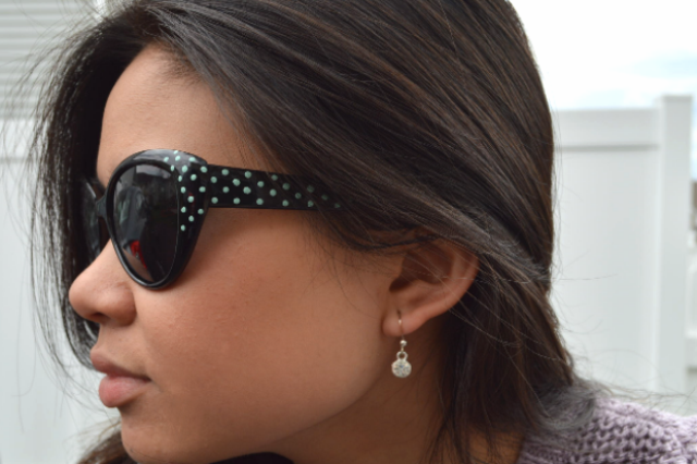 Picture Of Chic DIY Sunglasses With Nail Polish Dots 6