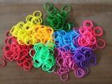 Colorful DIY Finger Fishtail Loom Bracelet2