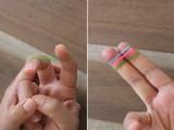 Colorful DIY Finger Fishtail Loom Bracelet3