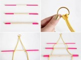 Comfortable DIY Hanging Jewelry Holder4
