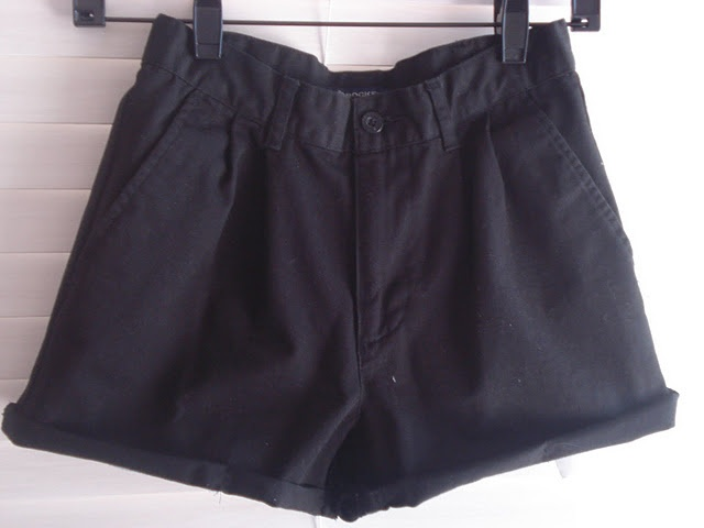 Picture Of Comfortable DIY High Waisted Shorts from Men's Pants 2