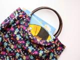 Comfortable DIY Hoop Handled Handbag10