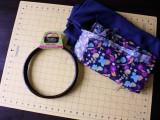 Comfortable DIY Hoop Handled Handbag2