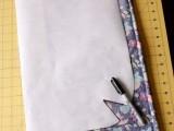 Comfortable DIY Hoop Handled Handbag3