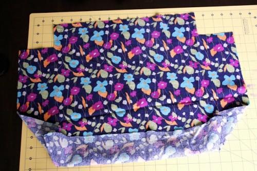 Girlish DIY Hoop Handled Handbag