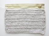 Comfortable DIY Treble Crochet Zip Pouch 4