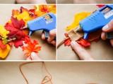Cool Autumn Idea of DIY Fall Leaf Crown4