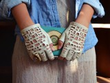 Cool DIY Chanel-Inspired Cut Out Gloves8