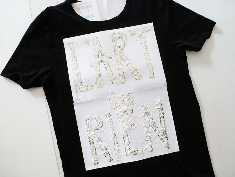 Picture Of Cool DIY Crayons Print On A T shirt 7