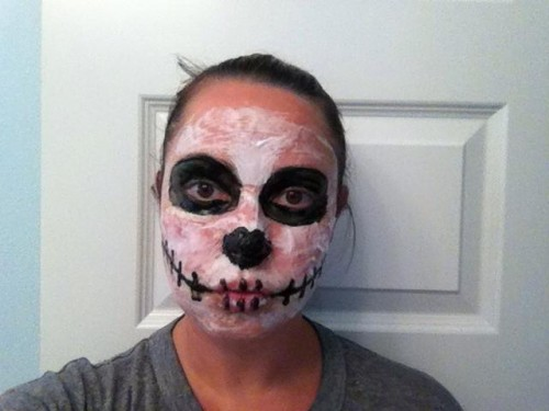 Cool DIY Homemade Halloween Makeup